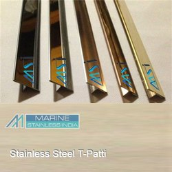 Stainless Steel Inlay T Profile