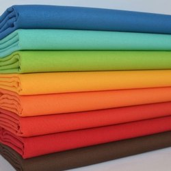 SKT Upto 63 Inch Plain Cotton Fabric, For Garments, GSM: 50-100 GSM