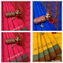 Tk-Madhumita Tussar Silk Sarees