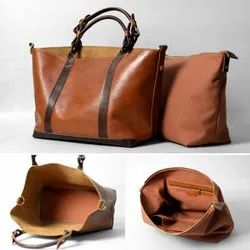 Plan Brown Women Handbag Messenger Bag