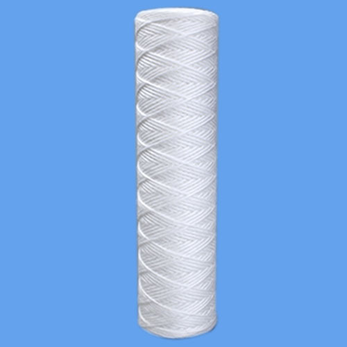 TFF White Cotton String Wound Filter Cartridge, for Water Filter