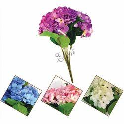 Artificial 50cm Hydrengea Flower Bunch