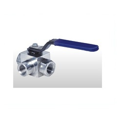3 Way High Pressure Ball Valve