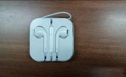 Wired White i Phone Hand Free, Model Name/Number: Apple Earphone