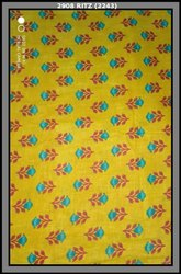 Heavy Cotton Slub Fabric-Ritz 2908 (Floral Print)