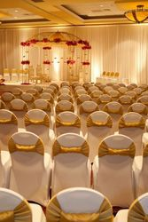 Hotel Chair Sashes - Bow