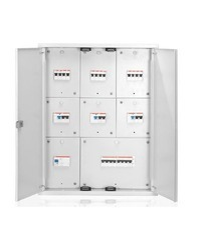 ABB 7Segment DB 8Way IP43 With Metal Door