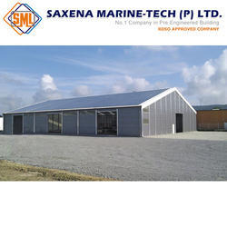 Steel Plates,color Coated Coil And GP Coil Hangar Building Structure
