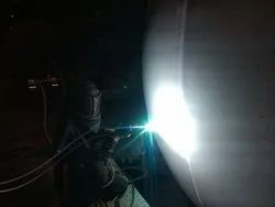 Thermal Spray SS Coating Inside Reactor