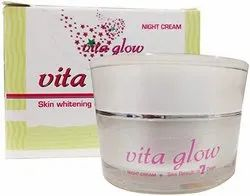 Herbal Skin Lightening Glutathione Cream - Vita Glow, Packaging Type: Cream Jar