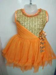 Fancy Sleeveless Kids Dress