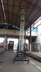 Tiltable Tower Ladder