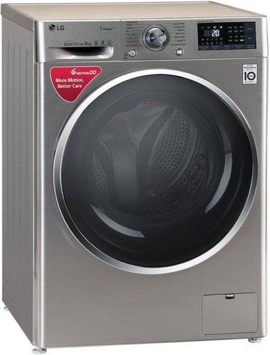 LG 9 kg Fully Automatic Front Load Washing Machine, FHT1409SWS, STS-VCM