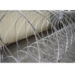 Concertina Fencing Wire 600MM, Core Wire Diameter: 2.5mm, 0.5 Mm