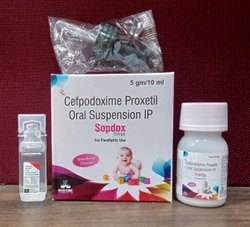 Cefpodoxime Proxetil For Oral Suspension IP
