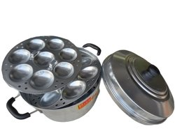 priya Manual 23 Idli Pot, 3 Pc, Size: Big