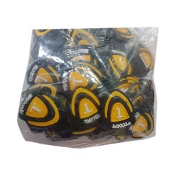 Yellow Tycoon Silicone Rubber Bag Sticker, Packaging Type: Packet