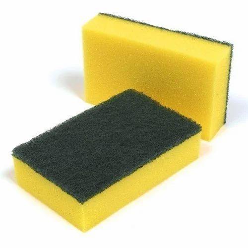 Sponge Scouring Pad, Sponge Scourer, Scrubbing Sponge, Sponge Scouring Pad,  स्क्रब स्पंज - Asian Enterprises, Mumbai | ID: 19683110573