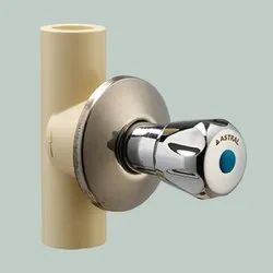 Astral CPVC Pro Chrome Plated Flower Concealed Valve
