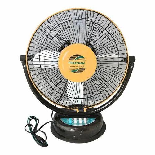 Praatham Mini Table Fan Size 12 Inch