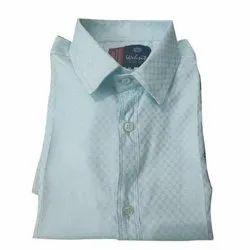 Collar Neck Mens Cotton Formal Shirt, Size: S-xxl