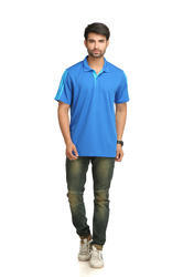 Royal Blue Adidas Men's Polo T-Shirt