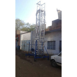 Aluminium Tiltable Extendable Tower Ladder MODEL SEE 103