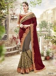 International Market Design Saree