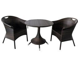 Wicker Chair Table Set