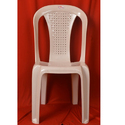 Cream Armless Chair, Usage: Indoor & Outdoor