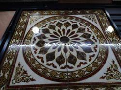600X600 Floor Carpet Rangoli Tiles