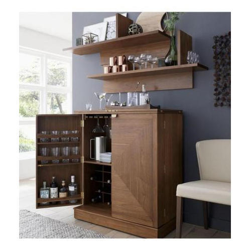 Gloarch Interio Plain Wooden Bar Cabinet Rs 21000 Piece Gloarch