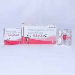 Combikit Of Fluconazole,Azithromycin & Secnidazole Tablets