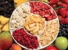 Freeze Dried Fruit Flakes / Cubes
