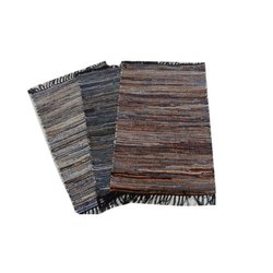 Leather Rug, Size: 60 X 90 Cm