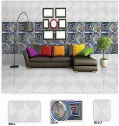 D-19 Hexa Ceramic Digital Wall Tiles Matt Series
