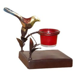 Iron Bird Candle Stand