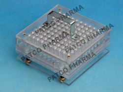 Capsule Filling Tray 100 Holes Acrylic