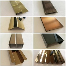 Decorative Stainless Steel Inner and Outer Tile Profile