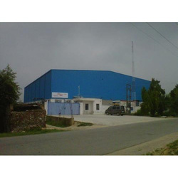 Steel Prefabricated Building Shed