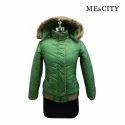 Ladies Printed Winter Jacket