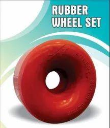 Rubber Wheel Set For Quad Skate