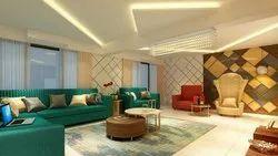 Residential 3 BHK Flat Interior Design Service
