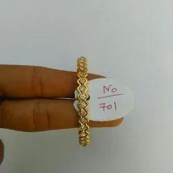 Payal Lmitation Designer Brass Stone Bangle, Packaging Type: Box