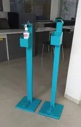 Hand Free Sanitizer Stand without Spring