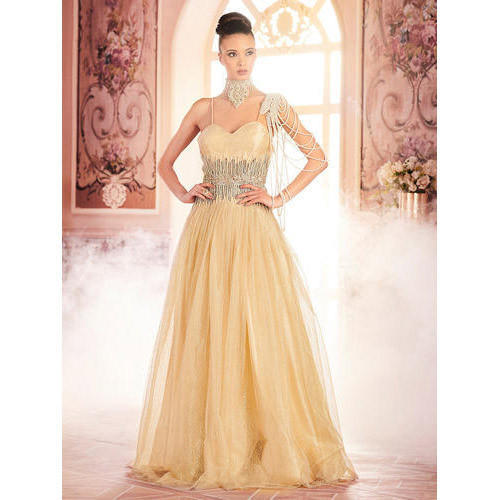 86e2ed3e38 Women Western Backless Evening Party Wear Gown, Rs 9999 /piece   ID ...