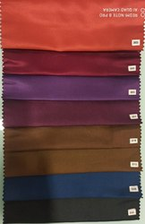 color sateen lining fabric