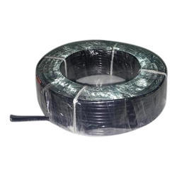 Black Flexible Cable, Packaging Type: Roll & Box