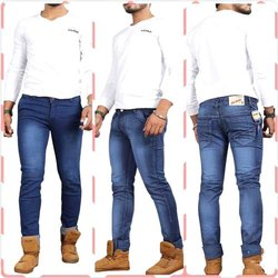 Casual Mens Slim Fit Jeans