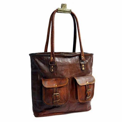 7b7817b531 Genuine Leather Ladies Leather Handbag